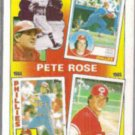 PETE ROSE 1986 Topps The Years #7.  REDS / PHILLIES
