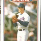 KENNY ROGERS 1990 Topps Rookies Glossy #24 of 33.  RANGERS