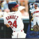 MANNY RAMIREZ 1995 Score Select #81.  INDIANS