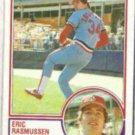 ERIC RASMUSSEN 1983 Topps #594.  CARDS