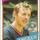 JOE RUDI 1980 Topps #556.  ANGELS