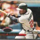 DEION SANDERS 1993 Stadium Club #408.  BRAVES