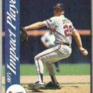 JOHN SMOLTZ 1992 Score Impact Player #30.  BRAVES
