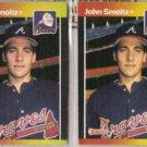 JOHN SMOLTZ (2) 1989 Donruss #642.  BRAVES