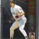 TIM SALMON 1996 Topps Puckett Profiles Insert #AL20.  ANGELS