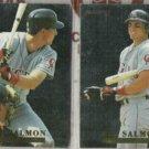 TIM SALMON (2) 1994 Fleer Career Highlights #11+ 9.  ANGELS