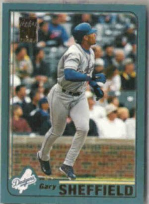 GARY SHEFFIELD 2001 Topps #145.  DODGERS