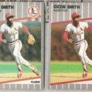 OZZIE SMITH (2) 1989 Fleer #463.  CARDS