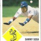 SAMMY SOSA 1998 Fleer Vintage 63 #11.  CUBS