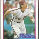 MIKE SCHMIDT 1989 Topps #100.  PHILLIES