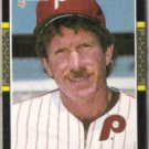 MIKE SCHMIDT 1987 Donruss #139.  PHILLIES