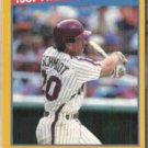MIKE SCHMIDT 1988 Score Highlights #657.  PHILLIES
