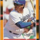 MIKE SCIOSCIA 1988 Donruss Best #260.  DODGERS