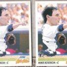 MIKE SCIOSCIA (2) 1991 Score All Star #782.  DODGERS
