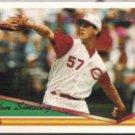 JOHN SMILEY 1994 Topps GOLD Insert #12.  REDS