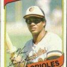 KEN SINGLETON 1980 Topps #340.  ORIOLES