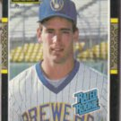 BJ SURHOFF 1987 Leaf Rated Rookie #28.  BREWERS