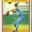 BRET SABERHAGEN 1986 Kay Bee Young Stars #27 of 33.  ROYALS