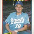 BRET SABERHAGEN 1988 Fleer Best #36 of 44.  ROYALS
