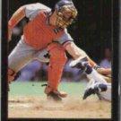 MICKEY TETTLETON 1992 Leaf Black GOLD Insert #285.  TIGERS