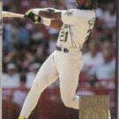 RUBEN SIERRA 1994 Donruss SE GOLD Insert #33.  A's