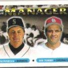 JOE TORRE 1993 Topps #512 w/ Lou Piniella.  CARDS
