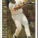 FRANK THOMAS 1996 Topps Classic Confrontations Ins.  WHITE SOX