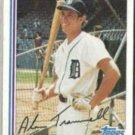 ALAN TRAMMELL 1982 Topps #475.  TIGERS