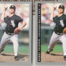 BOB THIGPEN (2) 1993 Fleer #589.  WHITE SOX