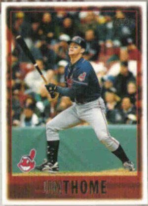 JIM THOME 1997 Topps #105.  INDIANS