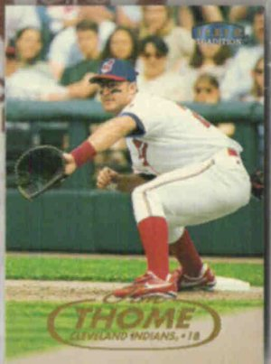 JIM THOME 1998 Fleer Tradition #110.  INDIANS