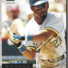 GREG VAUGHN 1994 Pinnacle #37.  BREWERS