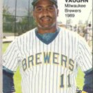 GREG VAUGHN 1989 Star Rookie Fever #3 of 10.  BREWERS