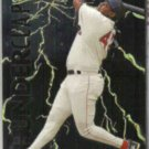 MO VAUGHN 1997 Fleer Ultra Thunder Clap Insert #2 of 10.  RED SOX