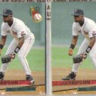 MO VAUGHN (2) 1993 Fleer Ultra #156.  RED SOX