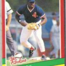 MO VAUGHN 1991 Donruss The Rookies #36.  RED SOX