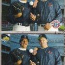 FRANK VIOLA (2) 1993 UD Teammates w/ R. Clemens.  RED SOX