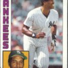 DAVE WINFIELD 1984 Topps #460.  YANKEES