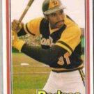 DAVE WINFIELD 1981 Donruss #364.  PADRES
