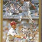 LARRY WALKER 1998 Topps Interleague w/ J. Gonzalez.  ROCKIES