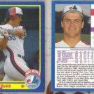 LARRY WALKER (2) 1990 Score Rookie #631.  EXPOS