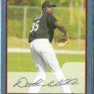 DONTRELLE WILLIS 2006 Bowman #174.  MARLINS