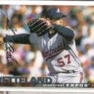JOHN WETTELAND 1995 UD CC Silver Sig. Insert #239.  EXPOS
