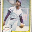 FRANK WHITE 1981 Fleer #44.  ROYALS