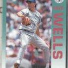 DAVID WELLS 1992 Fleer #345.  BLUE JAYS