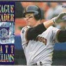 MATT WILLIAMS 1995 Fleer Leader Insert #7 of 10.  GIANTS