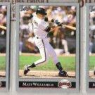 MATT WILLIAMS (3) 1992 Leaf #373.  GIANTS