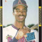 DEVON WHITE 1987 Donruss Rated Rookie #38.  ANGELS