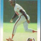DEVON WHITE 1987 Fleer Update #U-123.  ANGELS - Glossy