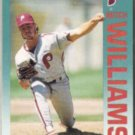MITCH WILLIAMS 1992 Fleer #547.  PHILLIES